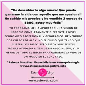 Testimonio Ester Vega 5 Rebeca Gonzalez